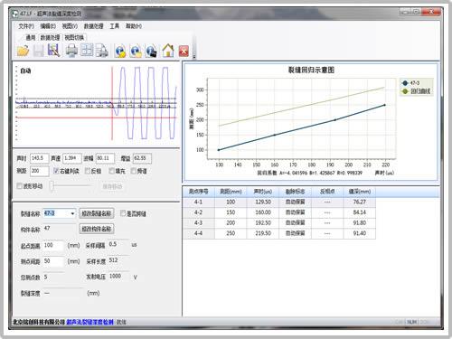 测缝数据处理软件