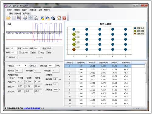 测缺数据处理软件